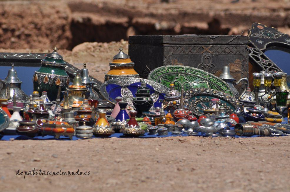 Camino de Marrakech al desierto