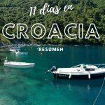 Resumen de 11 días en Croacia