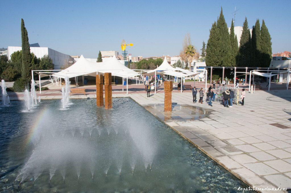 Exteriores del Parque de las Ciencias Granada